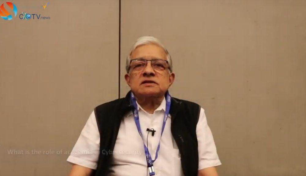 The Role of Academia in Cybersecurity | Prof. RK Shyamasundar | IIT Bombay